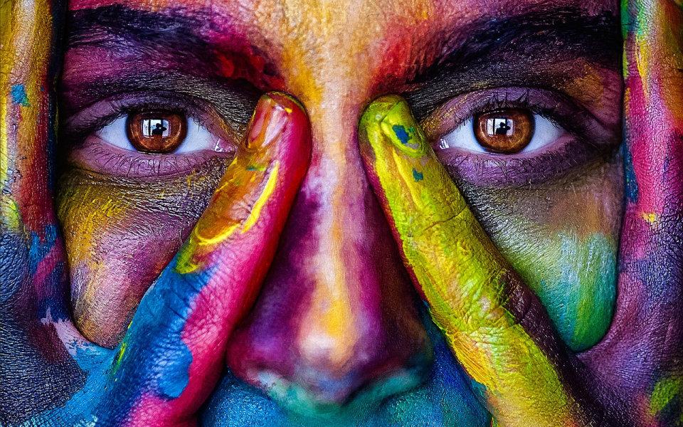 Augen der Blick in die Seele Konferenz